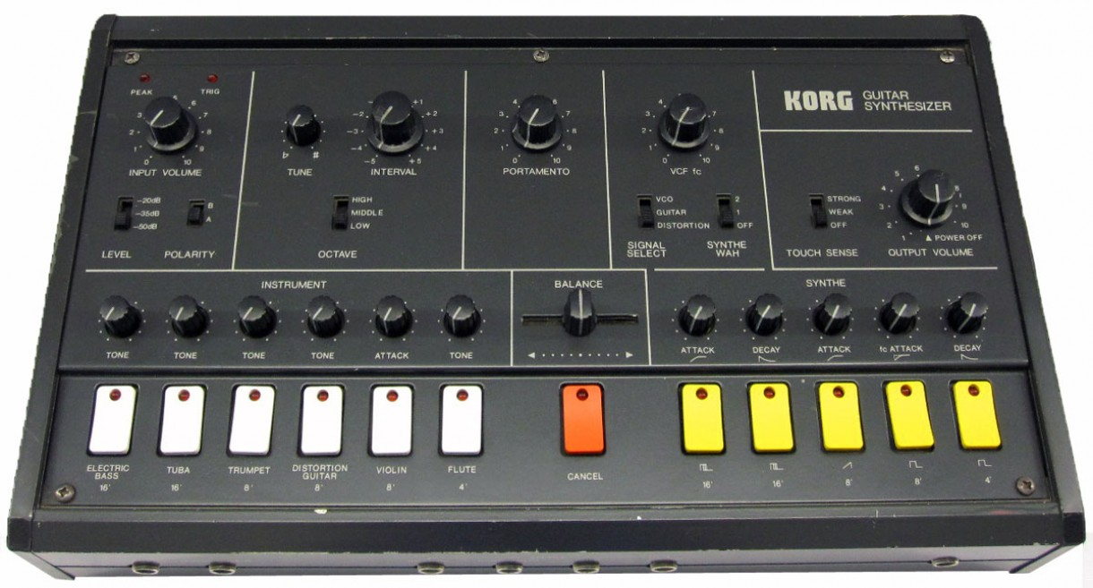 Korg 'X-911' guitar synth