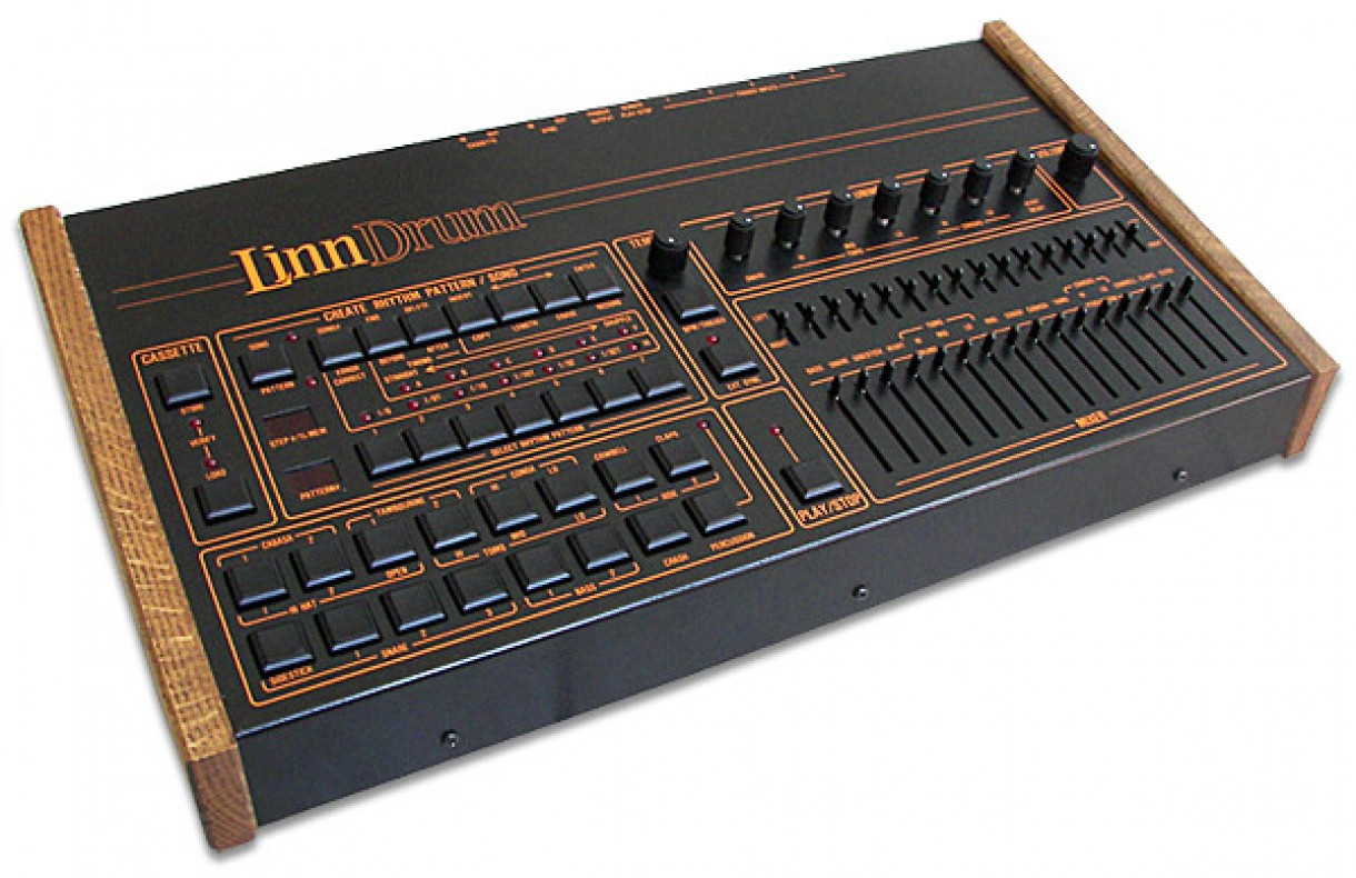 'LinnDrum' drum machine