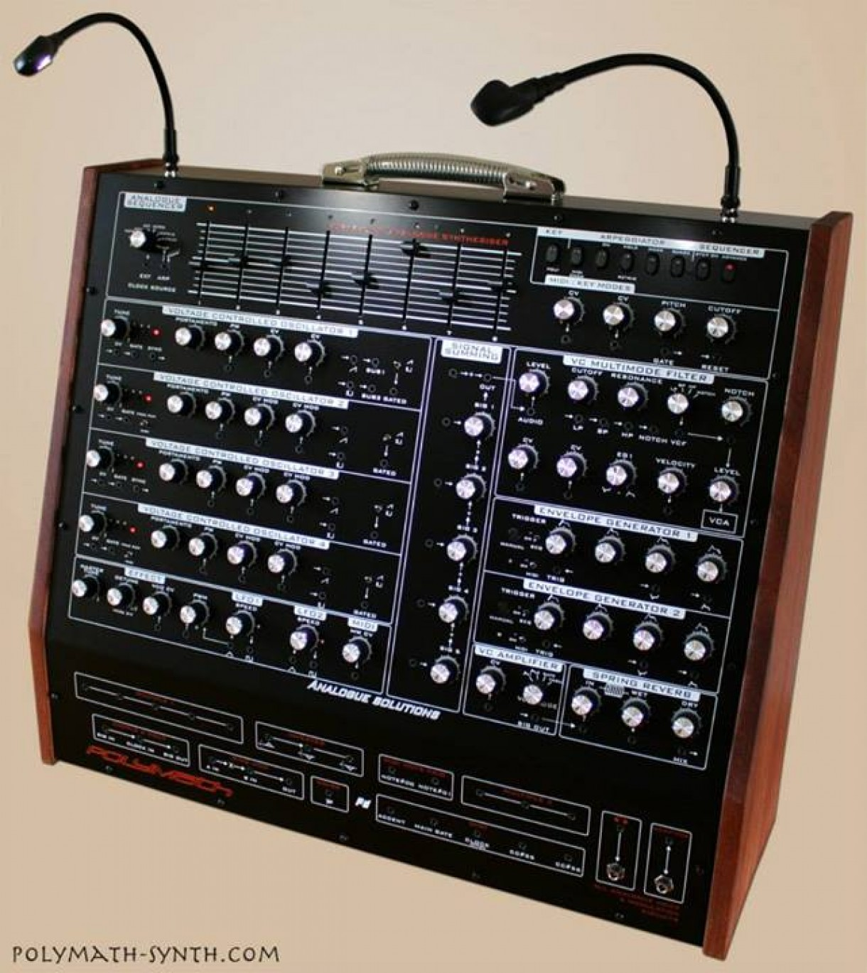 'Polymath' synth