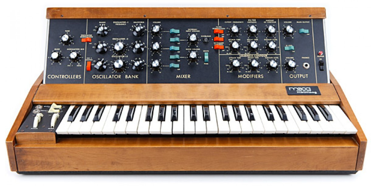 Moog 'Minimoog' synth