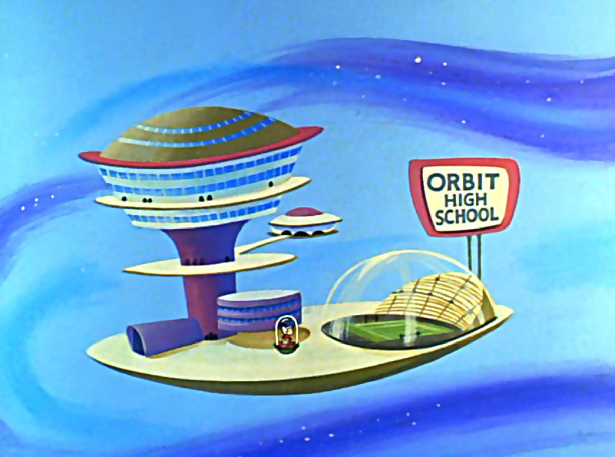 1962 'The Jetsons' Orbit High School