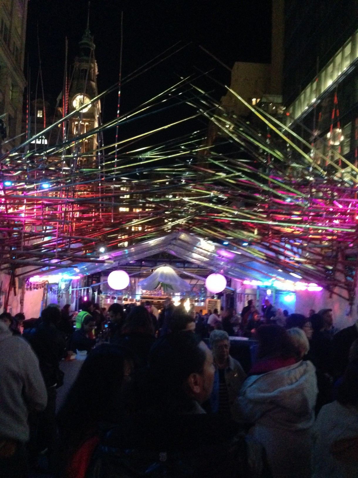 The 'Transcendence' stage at Vivid 2015