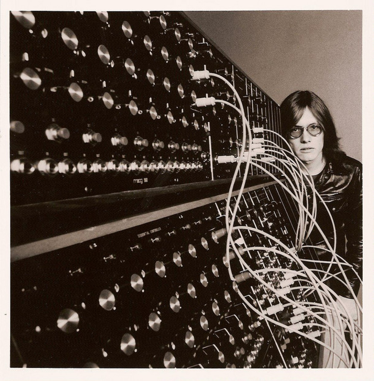 Roger Powell and a Moog synth
