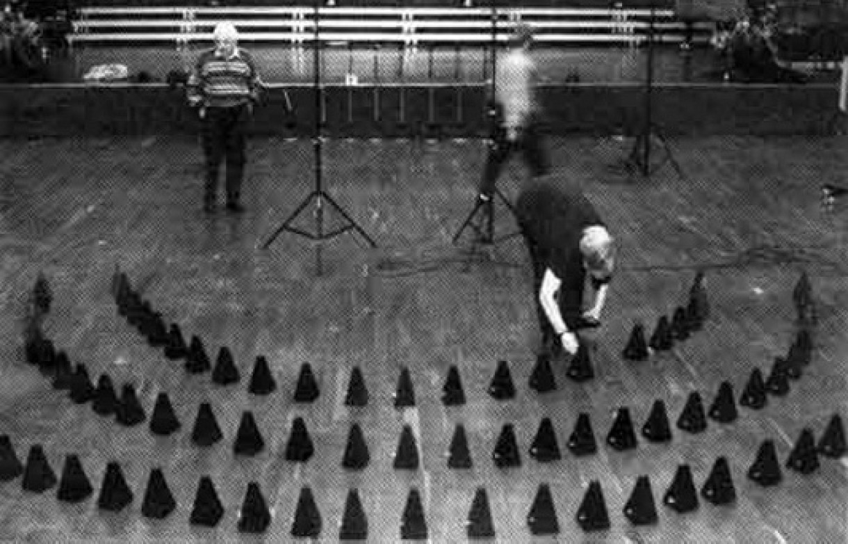 'Poème Symphonique for 100 Metronomes' by György Ligeti (1962)