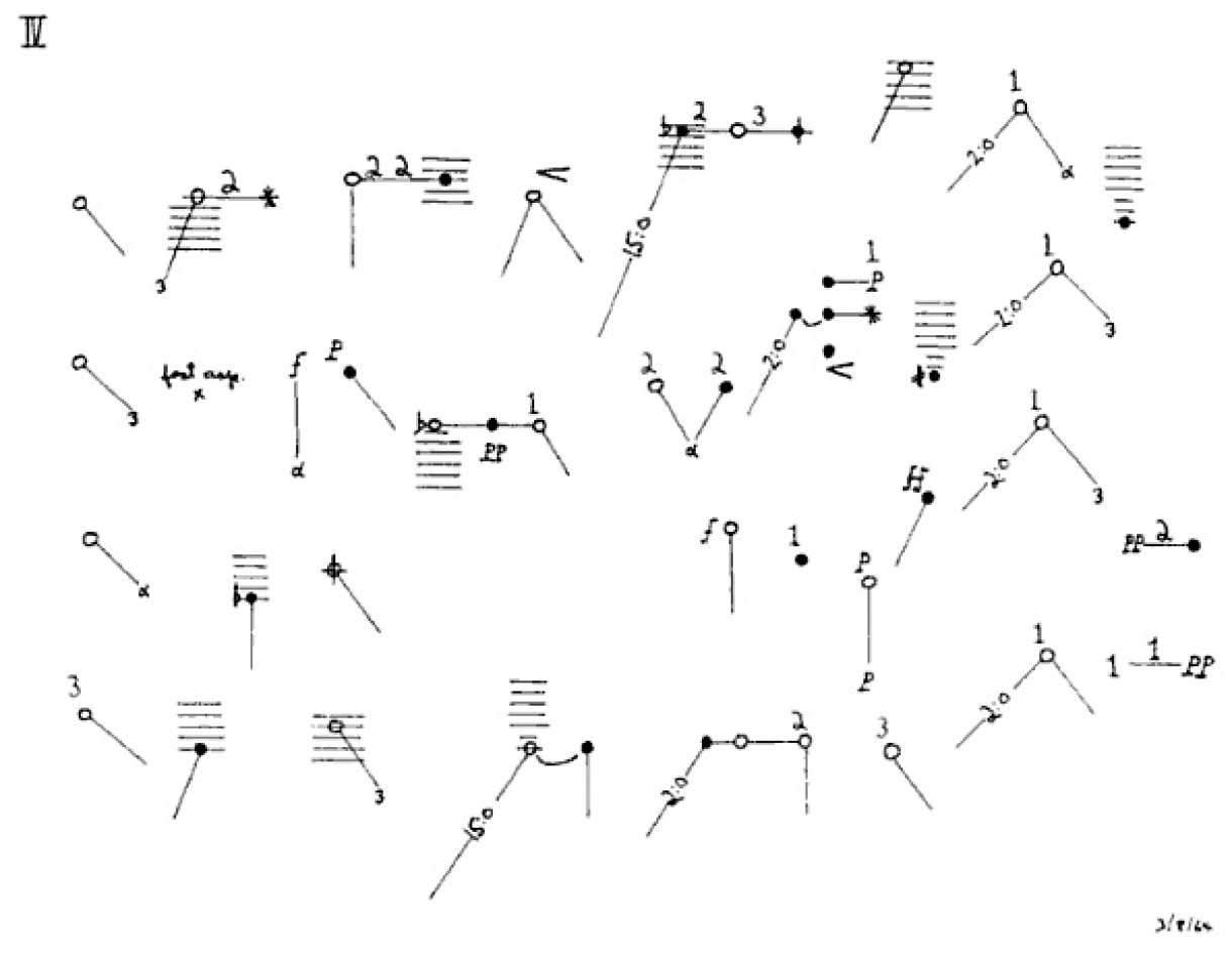 Christian Wolff 'For 1, 2, or 3 People' (1964)
