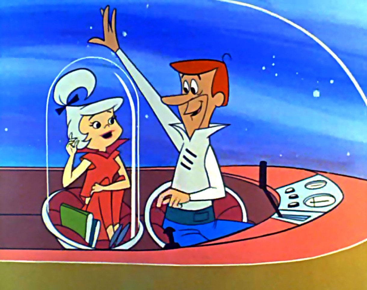 1962 'The Jetsons' Judy gets ejected